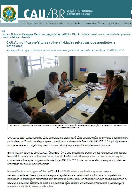 Fonte: http://www.caubr.gov.br/?p=44628