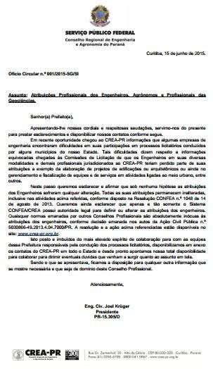 Fonte: file:///C:/Users/PAULO/Pictures/ofcio%20circular%20001-2015_prefeituras.pdf